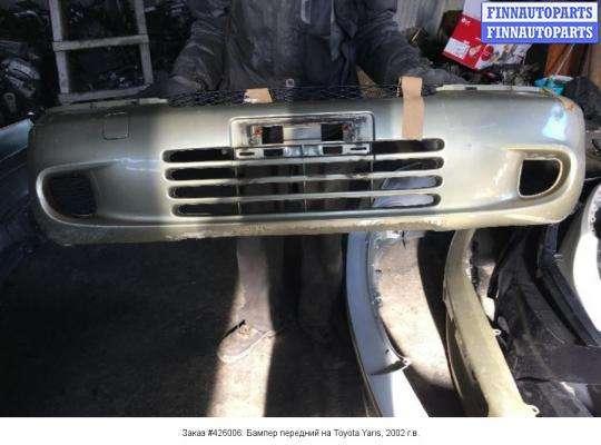 Бампер передний на Toyota Yaris Verso