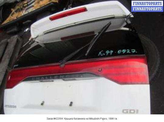 Крышка багажника на Mitsubishi Pajero Sport I (K90)