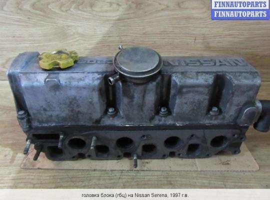 Головка блока цилиндров (ГБЦ в сборе) на Nissan Vanette Cargo HC 23