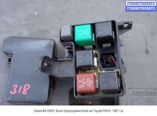 Блок предохранителей на Toyota RAV4 I