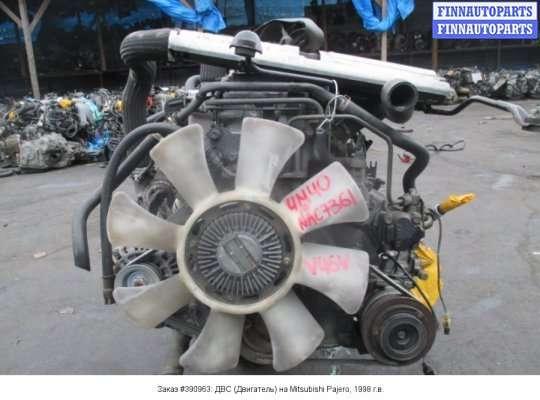 Двигатель (ДВС) 4M40-T
