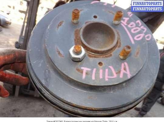 Балка подвески задняя на Nissan Tiida