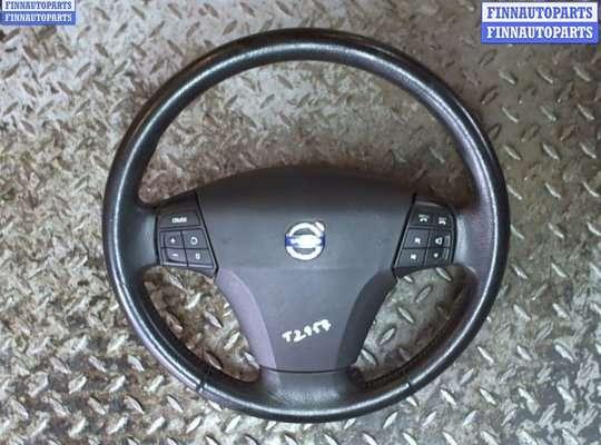 Подушка безопасности водителя (AirBag) на Volvo S40 II