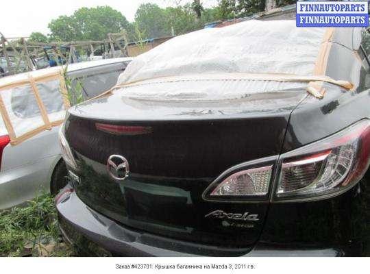 Крышка багажника на Mazda 3 II (BL)