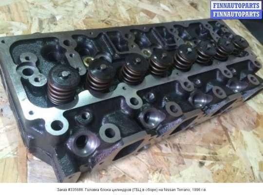 Головка блока цилиндров (ГБЦ в сборе) на Nissan Terrano II R20