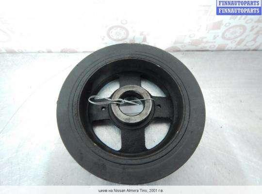 Шкив коленвала на Nissan Tino V10