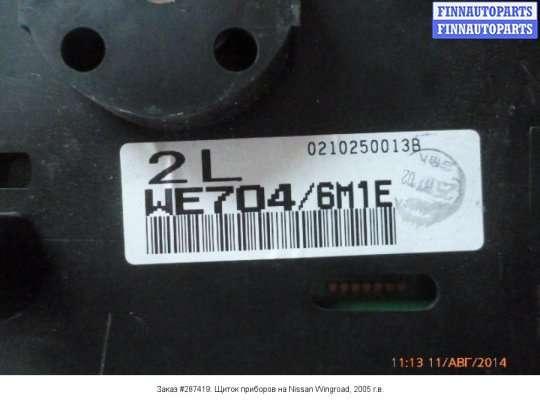 Щиток приборов на Nissan Wingroad Y11