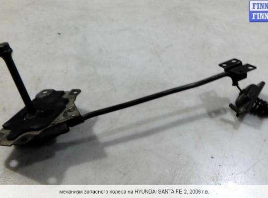 Держатель запаски на Hyundai Santa Fe II (CM)