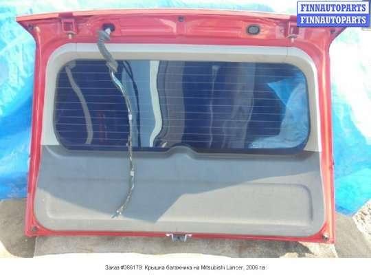 Крышка багажника на Mitsubishi Lancer IX