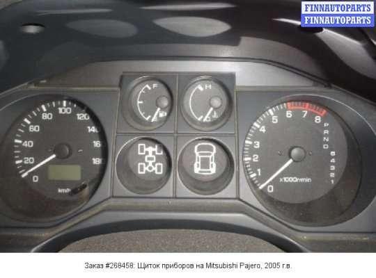 Щиток приборов на Mitsubishi Pajero III