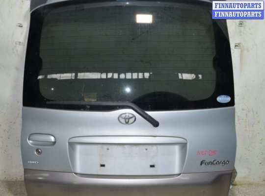 Крышка багажника на Toyota Yaris Verso