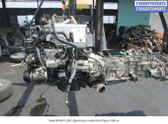 ДВС (Двигатель) на Mitsubishi Pajero III