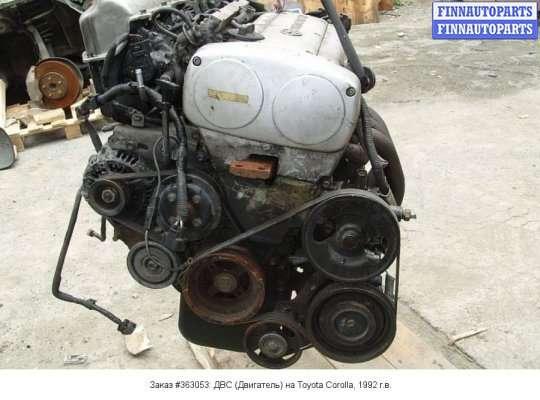 ДВС (Двигатель) на Toyota Corolla Levin (AE100)
