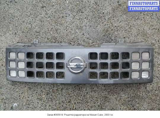 Решетка радиатора на Nissan Cube Z11