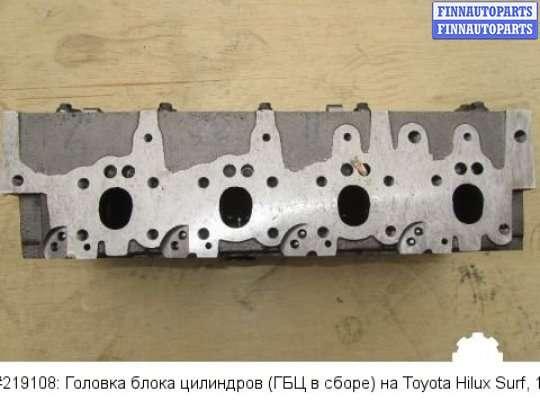 Головка блока цилиндров (ГБЦ в сборе) на Toyota Hilux Surf I (N130G)