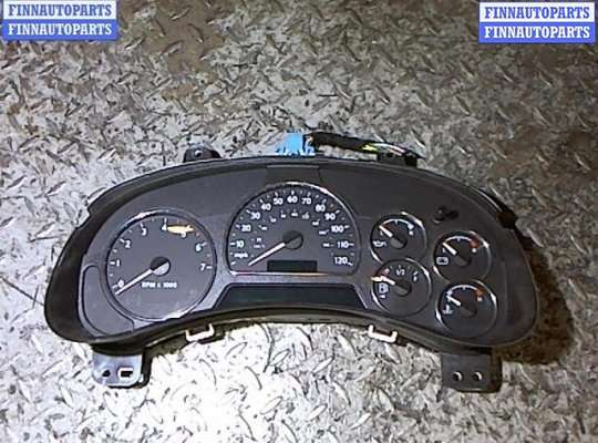 Щиток приборов на Chevrolet Trailblazer GMT800