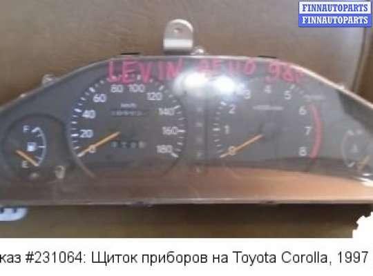 Щиток приборов на Toyota Corolla Levin (AE110)
