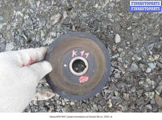 Шкив коленвала на Nissan Micra (K11)
