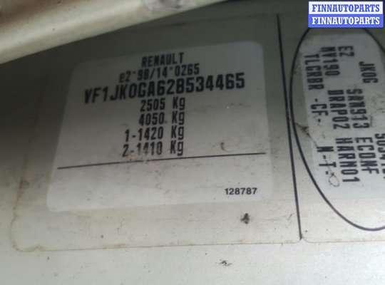 Полка багажника на Renault Espace IV