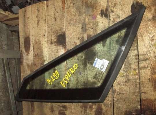Стекло (форточка) боковой двери на Daewoo Espero KLEJ